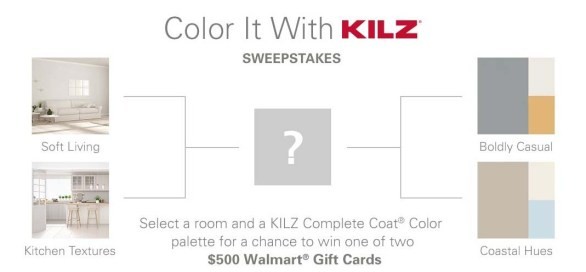 Color It With KILZ Sweepstakes