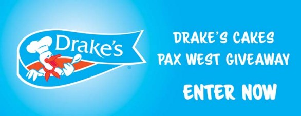 Drakes Cakes Pax Giveaway