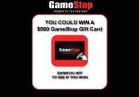 GameStop PowerUp Rewards Instant Win Promotion