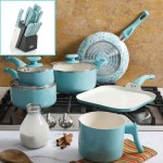 Gibson Outlet Turquoise Cookware Set & Cutlery Set Giveaway