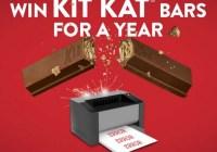Kit Kat Summer 2018 Twitter Promotion