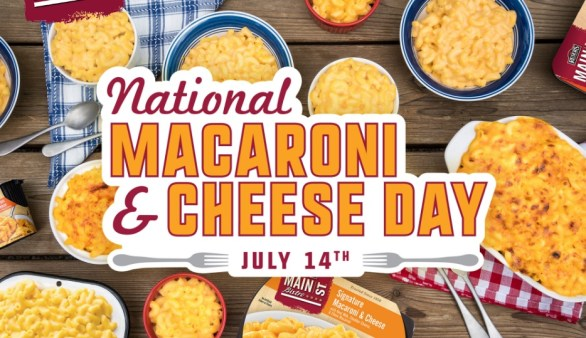 Main St Bistro National Macaroni and Cheese Day Sweepstakes