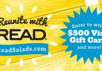 Reunite with READ 2018 Sweepstakes
