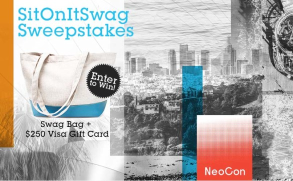 SitOnIt Seating Neocon Sweepstakes