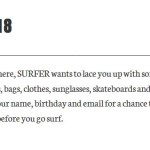 Surfer 30 Days Of Giveaway