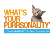 The Arm & Hammer Cat Owner Purrsonality Quiz Sweepstakes - Win Amazon Gift Card
