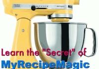 The Secret Of My Recipe Magic Giveaway