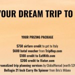 Win Your Dream Trip To Italy Sweepstakes - Win A Trip To Italy