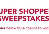 ZuPreem Super Shopper Sweepstakes
