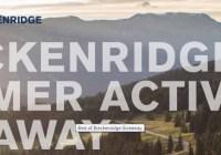 Breckenridge Summer Activities Giveaway