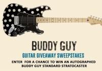 Buddy Guy Guitar Sweepstakes
