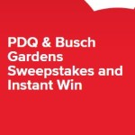 PDQ & Busch Gardens Sweepstakes - Win Busch Gardens Tampa Bay Prize Package
