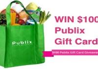 Publix Giveaway