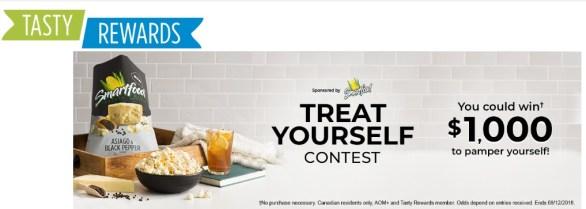 Tasty Rewards Treat Yourself Contest