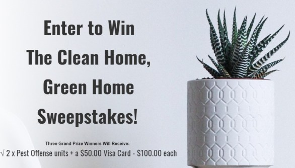 The Clean Home Green Home Sweepstakes