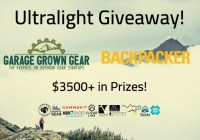 Ultralight Backpacking Giveaway