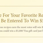 Woodbridge Summer Recipe Sweepstakes