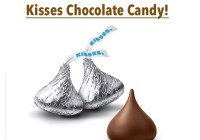 25 Lb Hershey's Kisses Chocolate Candy Giveaway