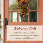 Balsam Hill Welcome Fall Giveaway