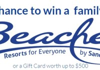 Beaches Sweepstakes