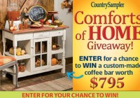 Country Sampler Comforts Of Home Giveaway