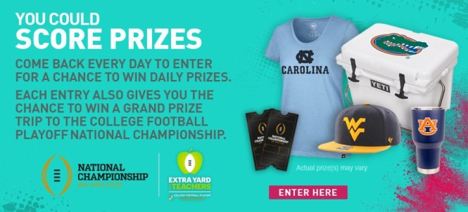 College Colors Day Daily Sweepstakes