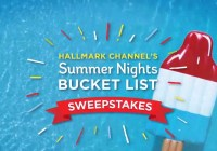 Hallmark Channel Summer Nights Bucket List Sweepstakes