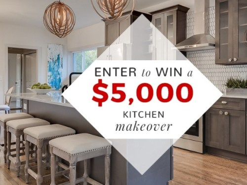 Kitchen Makeover Sweepstakes - Chance To Win Kitchen ...