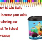 Kollercraft Aquariums Back To School Giveaway