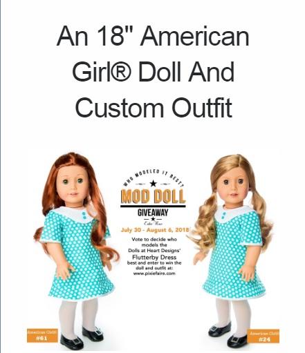 Pixie Faire Mod Doll Giveaway