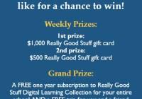 Really Good Stuff Contest