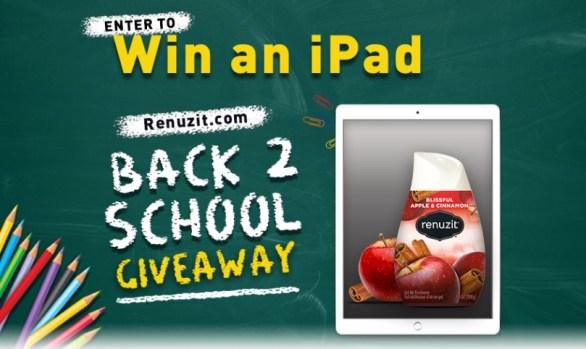 Renuzit Back To School Giveaway