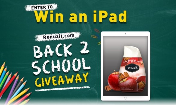 Renuzit Back To School Giveaway