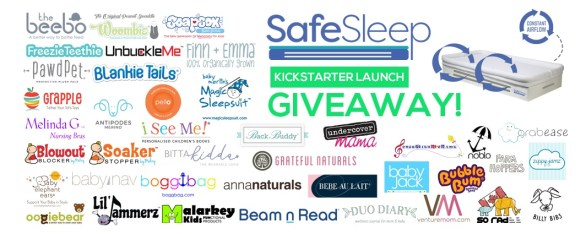 Safe Sleep Kickstarter launch Giveaway