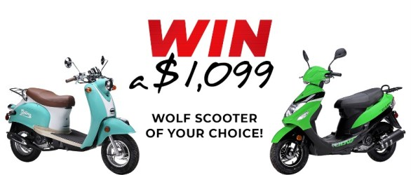 Wolf Scooter Giveaway