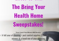Bring Your Health Home Sweepstakes