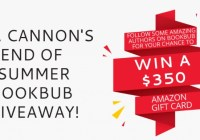 C.L. Cannon End Of Summer BookBub Giveaway