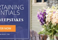 Eating Well Entertaining Essentials Sweepstakes