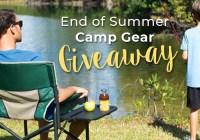 End of Summer Camp Gear Giveaway