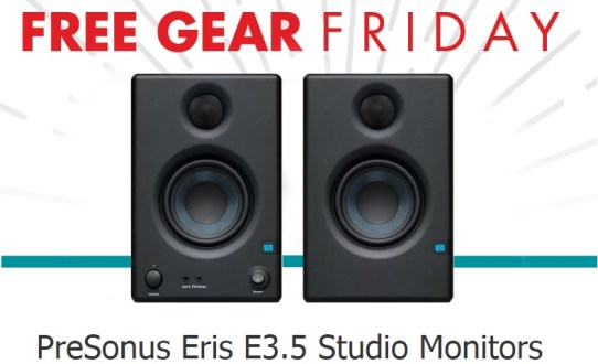 Full Compass Systems Presonus Monitors Giveaway