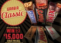 Grab A Classic Grand Prize Sweepstakes And Instant Win Game