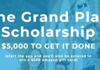 Grand Plan Scholarship Contest