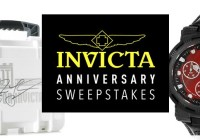 Invicta Anniversary Sweepstakes