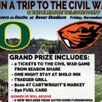 Oregon Civil War Tailgate Giveaway