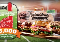 Prime Fresh Tailgate Sweepstakes