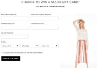 Saks Fifth Avenue Shopping Spree Sweepstakes