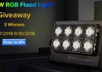 Sansi Flood Light Giveaway