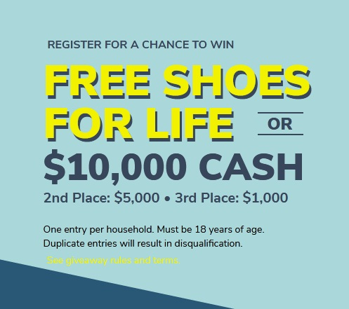 Shoe Station Free Shoes For Life Giveaway