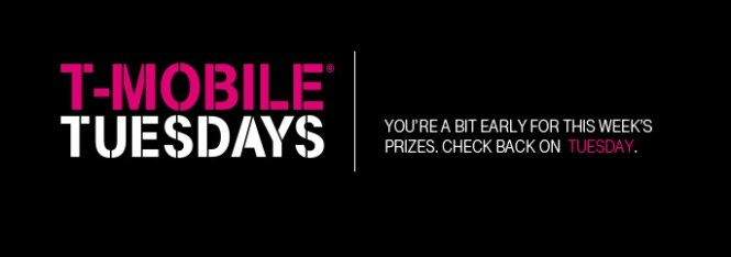 T Mobile Tuesdays Week 118 Sweepstakes