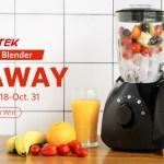 Bestek Smoothie Blender Giveaway